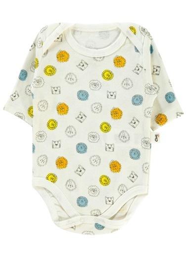 Civil Baby  Erkek Bebek 2'Li Çıtçıtlı Badi 0-24 Ay Ekru  Erkek Bebek 2'Li Çıtçıtlı Badi 0-24 Ay Ekru Ekru
